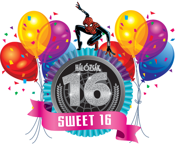 16 szülinapra idézetek 16. HálóZsák Szülinap   Sweet Sixteen